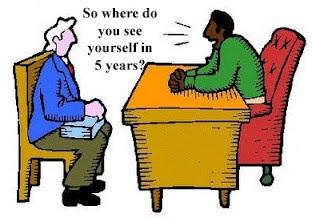 Waar zie je jezelf in 5 jaar