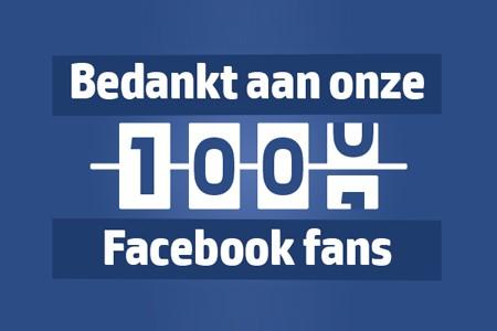 1000 Facebook fans op Facebookpagina