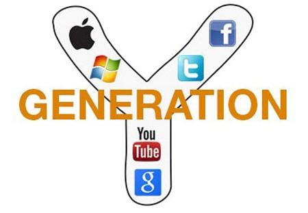 Generatie Y, Technologie en het Internet