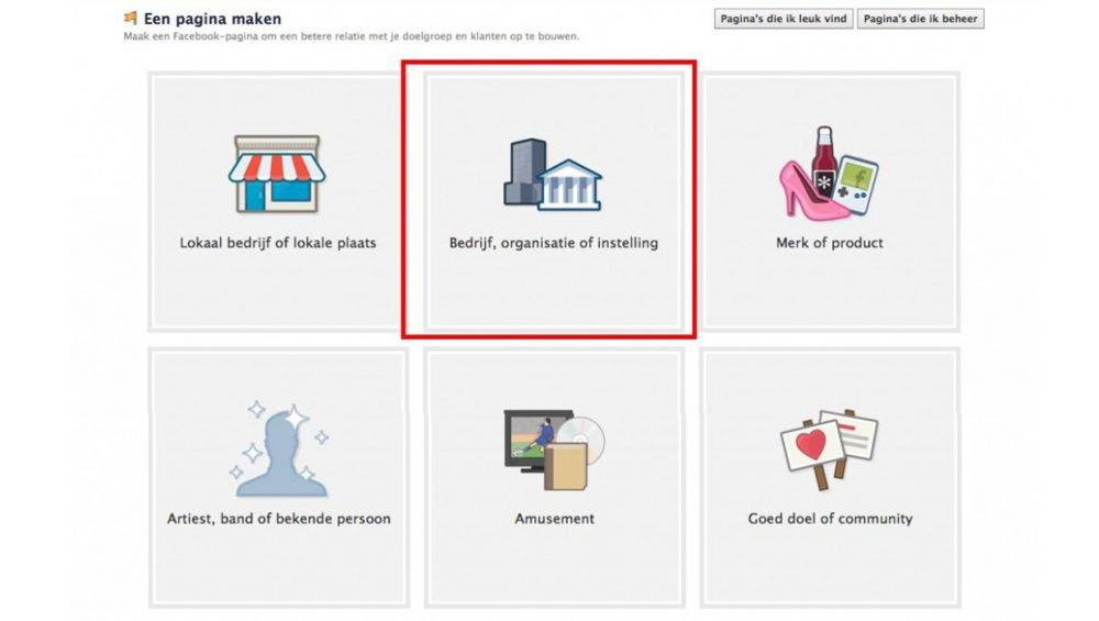 In 6 stappen jouw Facebook bedrijfspagina maken