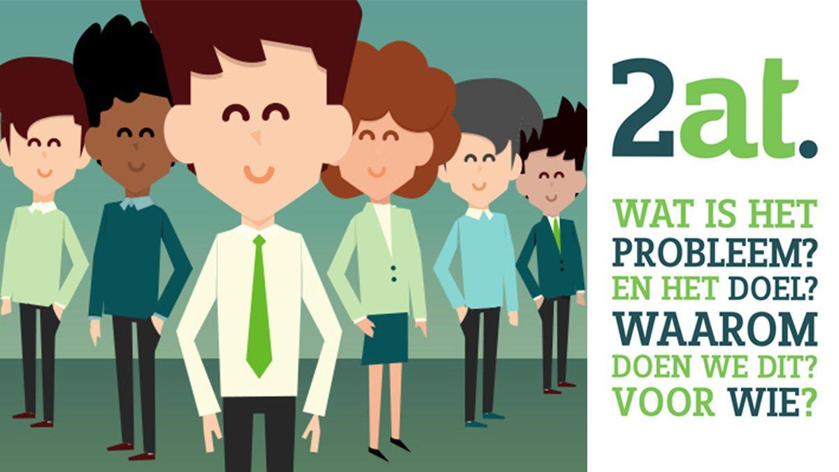 Hoe 2at passend én schaars IT talent aanspreekt dankzij hun employer value proposition>