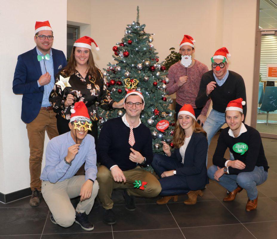 Groepsfoto Kerst