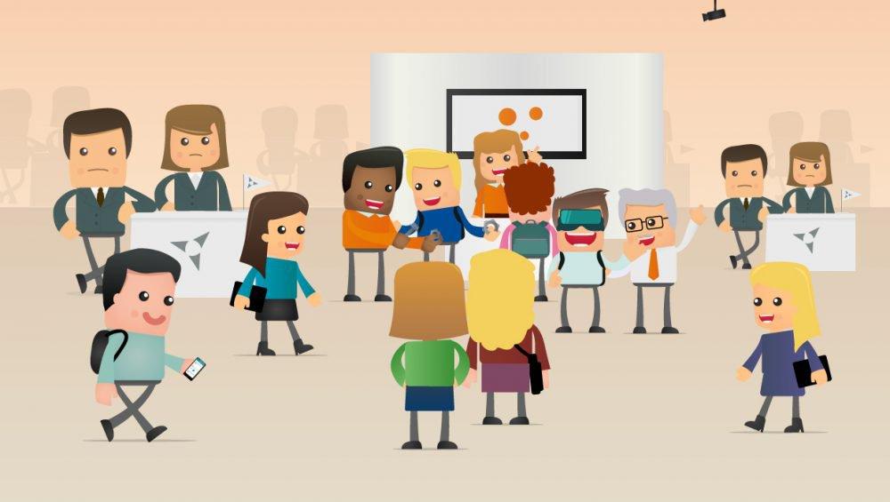 8 tips voor het aanspreken van studenten tijdens een carrièrebeurs