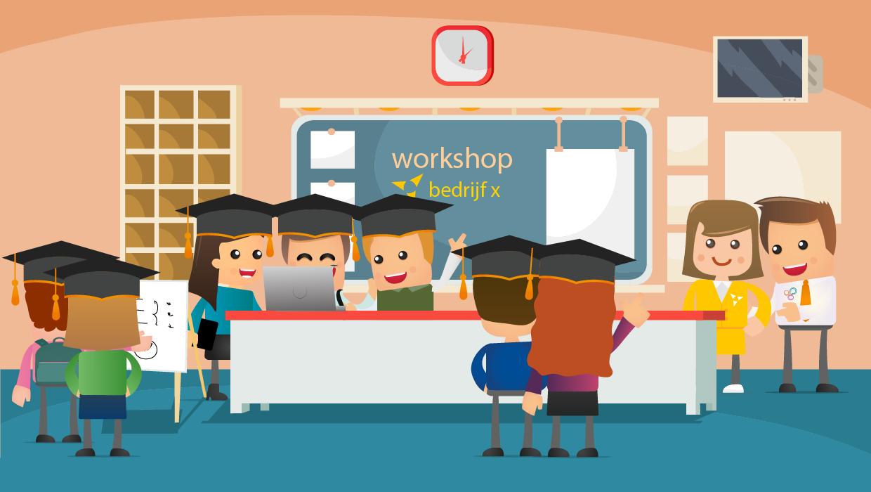 Wat houdt een workshop, lezing of diner in?>