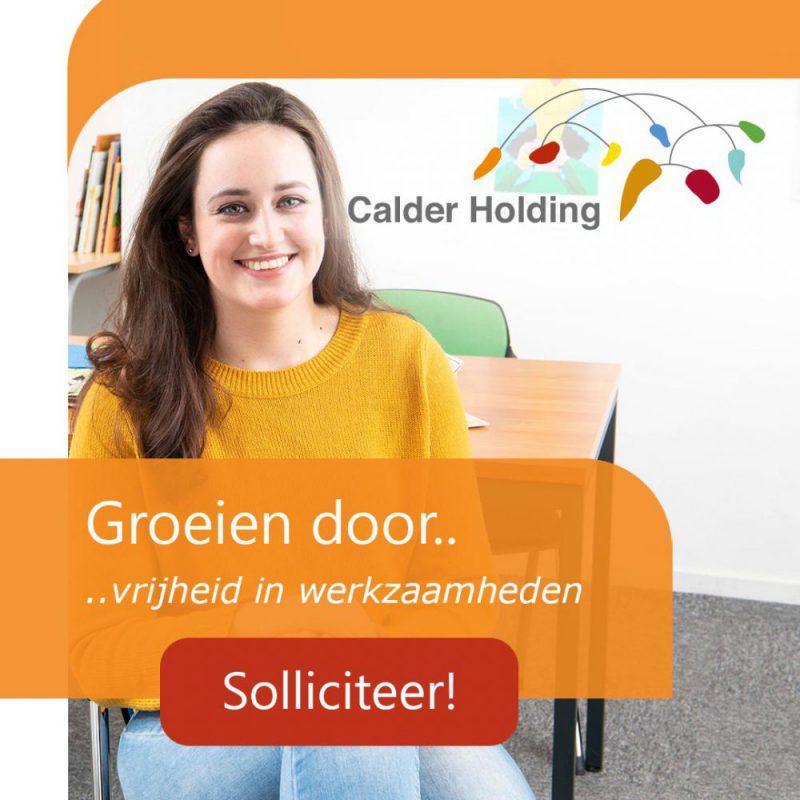 Hoe wij samen met Calder haar management traineeship opnieuw hebben gepositioneerd en 115 potentiële trainees hebben geënthousiasmeerd om te solliciteren>