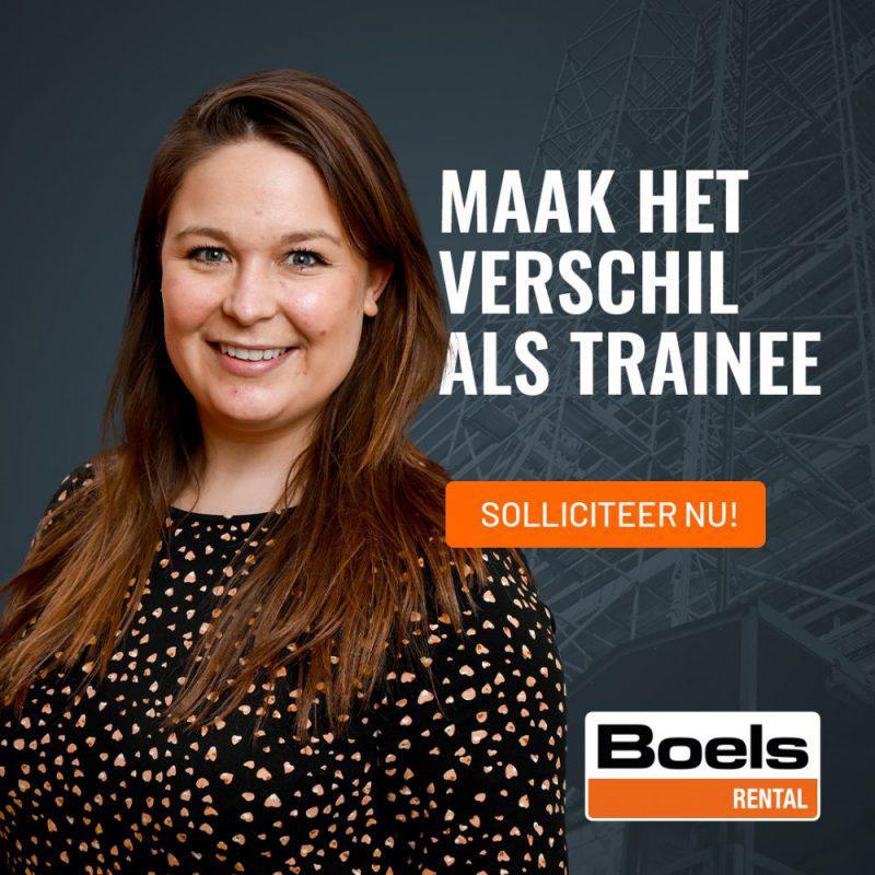 Hoe wij samen met Boels Rental hun nieuwe Management Traineeship vormgaven, positioneerden en razendsnel invulden>