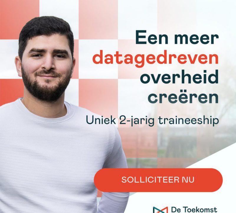 Hoe wij samen met de Toekomst van Brabant haar nieuwe specialistische data- & informatiemanagement traineeship positioneerden, in de markt zette en alle 5 posities vervulden >